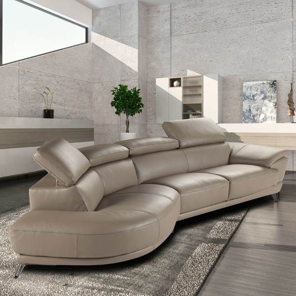 Stylish sofas a collection by sam favorave for Ava nailhead chaise