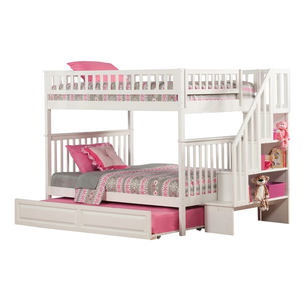 Our favorite bunk beds a collection by dorothy favorave for Furniture of america pello full over full slatted bunk bed